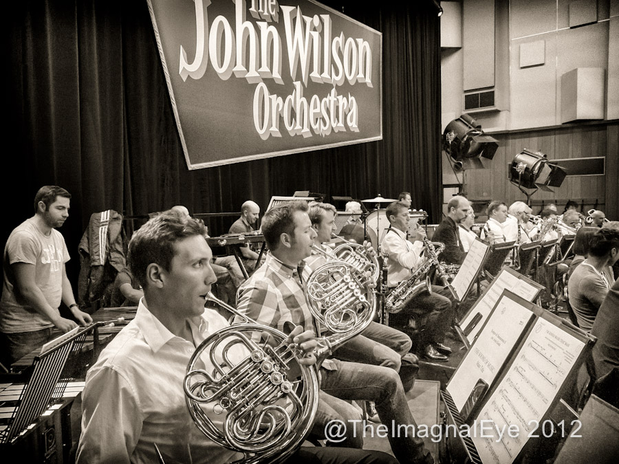 John Wilson Orchestra Showcase at EMI Studios, Abbey Road.